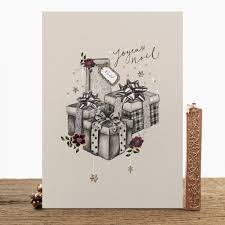 pack of luxury traditional christmas cards by stephanie davies