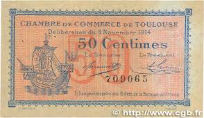 chambre commerce toulouse 50 centimes regionalism and miscellaneous toulouse 1914 jp