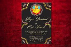 ganesh wedding invitations ganesha indian wedding invitation design card engagement party