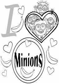 imagenes de amor para dibujar grandes 56 dibujos de minions para descargar gratis imprimir y pintar