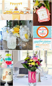 22 best around the clock bridal shower theme images on pinterest