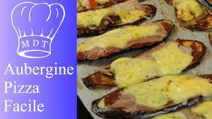 comment cuisiner l aubergine sans graisse aubergine pizza sans pâte