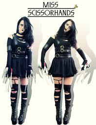 Edward Scissorhands Costume Alyssa Jena Diy Tights Wildfox Couture Boots Miss Scissorhands