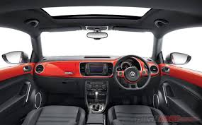 new volkswagen beetle interior new vw beetle launch price inr 28 73 lakh