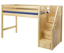 diy bunk beds with stairs stair how to build twin over full free