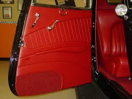 34 Interior Door Rod Interior Door Panels 1934 Ford Coupe M And M Rod