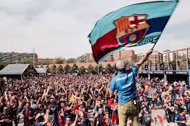 the sports fan zone fan zone fc barcelona copa del rey 2017 pepitos brothers