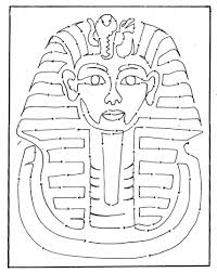 tutankhamun mask template 31 best tutankhamun reference images on