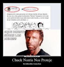 Memes De Chuck Norris - chuck norris nos proteje desmotivaciones