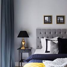 bed bedroom black blue curtain dream dreaming gold grey