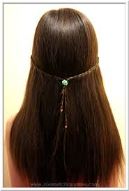 hair styles for back of 3 garnets 2 sapphires 5 easy back to school straightastyle