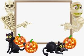 frame halloween png image for free download