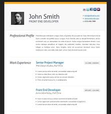 free resume with photo template 28 images 12 resume templates