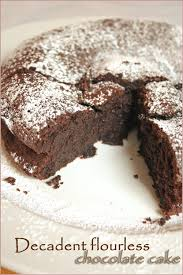 be thankful for decadent flourless chocolate cake cooksister