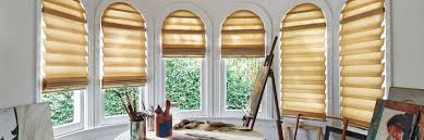 Sheer Roller Blinds For Arched Modern Roman Shades Consistent Folds Vignette