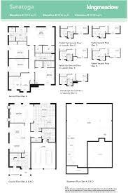 saratoga homes floor plans kingmeadow saratoga model oshawa new homes minto