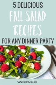 5 fall salad recipes that will the show at thanksgiving