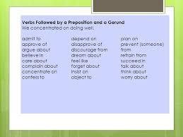 verb pattern prevent 020 verb lists infinitives and gerunds verbs followed by an
