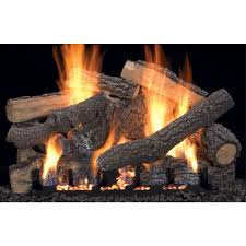 Fireplace Gas Log Sets by Vent Free Gas Log Set