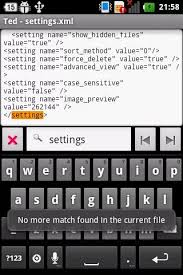 android text editor apk ted text editor for android