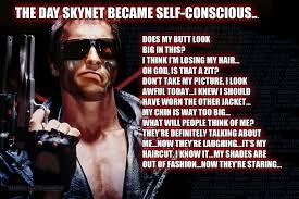 Schwarzenegger Meme - list of synonyms and antonyms of the word skynet meme