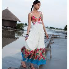 rene dhery robe longue rene derhy en coton catalogue 145042 be