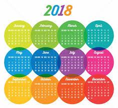 2017 2018 2019 calendar template vector cdrai