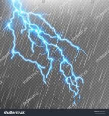 Lightning Strike Map Lightning Strike Rain Template Flash Eps Stock Vector 563070697
