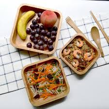 square dishes sets for dinner rubber wood salad plates japanese