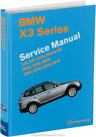 bmw x3 m54 n52 engines printed service manual 2004 2010