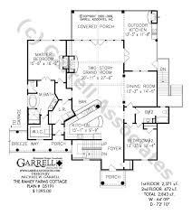 kitchen house plans ramey farms cottage house plan house plans by garrell associates