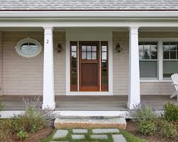tapered porch columns houzz 18 how to make craftsman style 12 pvc