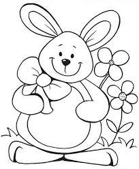 rabbit coloring stichery u0026 drawings rabbit