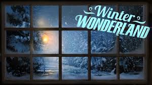 atmoscheerfx winter wonderland flatscreen tv and projection