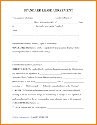 11 rent lease agreement form cio resumed