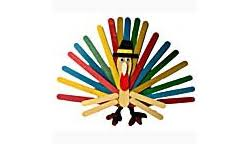 craft stick turkey family crafts