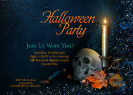 ideas for halloween party invitations halloween party invitations afoodaffair me