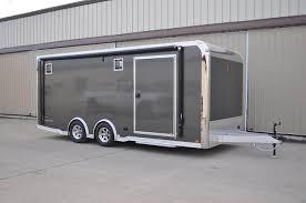 enclosed trailer exterior lights 20 intech aluminum race trailer intech trailers for sale rpm