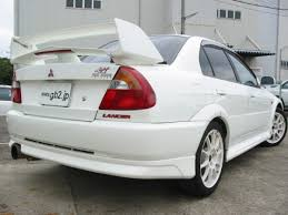 mitsubishi lancer evolution 6 5 tommi makinen edition rear spoiler