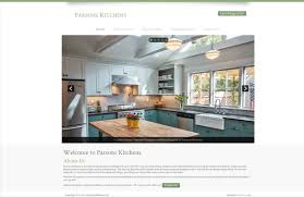 Kitchen Website Design Pcs Web Design Parsons Kitchens Is Cooking Now