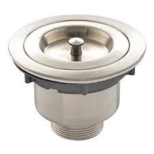 VAPSINT  Inches Stainless Steel Kitchen Sink Strainer Drain - Kitchen sink waste traps