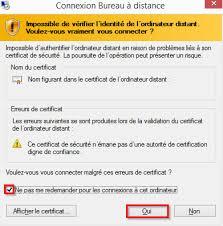 connexion bureau distance impossible iilyo bureau virtuel se connecter à partir de windows 8