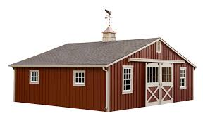 nice brown small horse barn plans that can be decor with white
