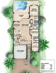 house plans for a narrow lot narrow mediterranean house plans home deco plans