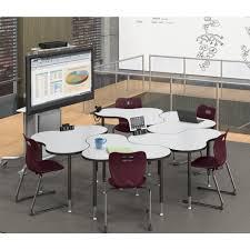 Left Handed Desk Cloud 9 Configurable Student Desk System Mooreco Education