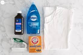 How To Wash Bright Colors - how to remove sweat stains the easy way one good thing by jillee