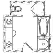 Bathroom And Walk In Closet Floor Plans Modren Master Bathroom Floor Plans Home Improvement House