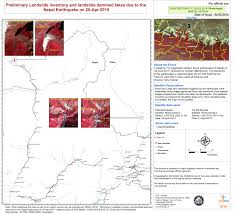 Nepal On A World Map by Earthquake In Nepal India Bangladesh China Un Spider