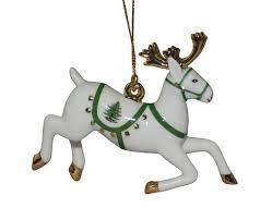 spode tree reindeer ornament spode usa