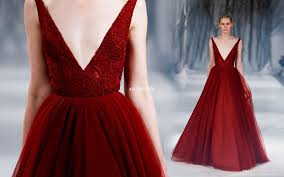 prom and wedding dresses burgundy gown prom dresses vintage lace v neck floor
